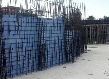 Perde Duvarı Yapımı