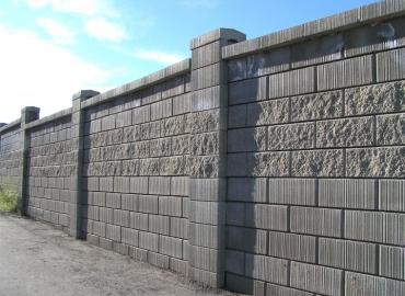 Beton Avlu Duvarı İmalatı Burdur