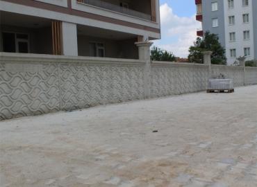 Beton Bahçe Duvarı İmalatı Elazığ