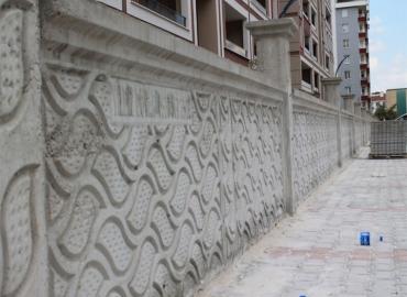 Beton Bahçe Duvarı Yapımı Erzincan