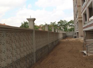 Beton Çevre Duvarı Yapımı Eskişehir