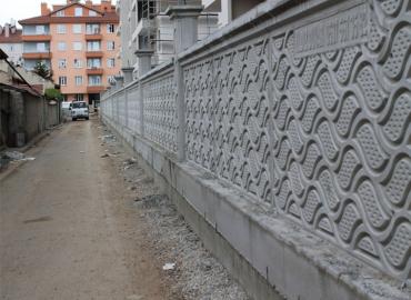 Beton Avlu Duvarı İmalatı Gaziantep