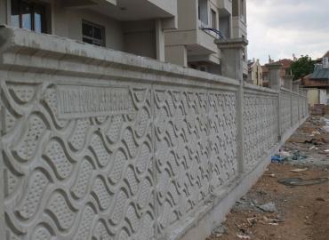 Beton Bahçe Duvarı İmalatı Gümüşhane