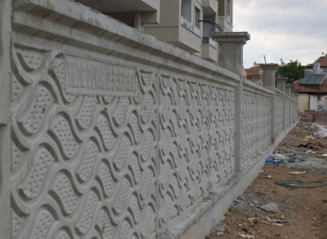 Beton Bahçe Duvarı Yapımı Hakkari