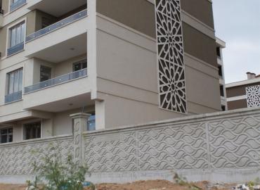 Beton Avlu Duvarı Yapımı Isparta