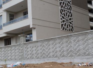 Beton Çevre Duvarı İmalatı Mersin