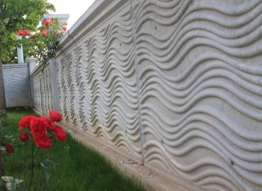 Beton Avlu Duvarı Yapımı Kayseri