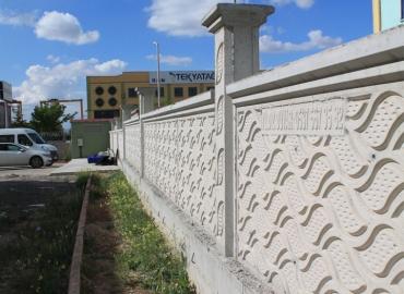 Beton Çevre Duvarı İmalatı Manisa
