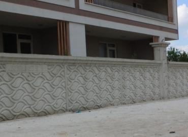 Beton Çevre Duvarı İmalatı Ardahan