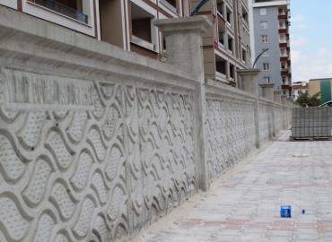 Beton Çevre Duvarı Yapımı Iğdır