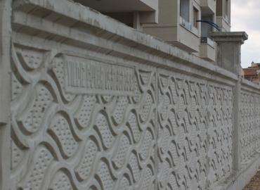 Beton Avlu Duvarı Yapımı Bartın