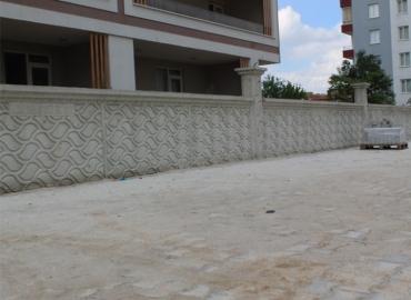 Beton Çevre Duvarı Yapımı Uşak