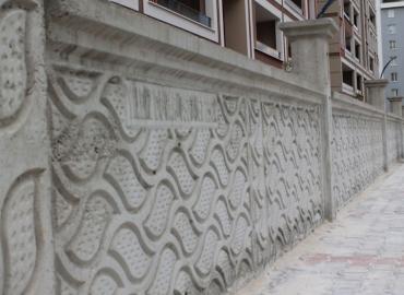Beton Bahçe Duvarı İmalatı Van